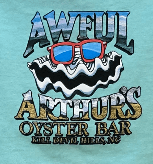 Happy Beach Oyster Toddler Shirt Logo
