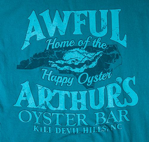Awful Arthurs Long Sleeve Logo on Back of Shirt