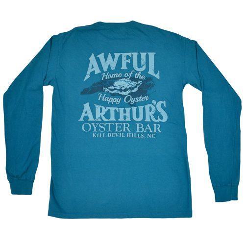 Awful Arthurs Happy Oyster Long Sleeve Shirt