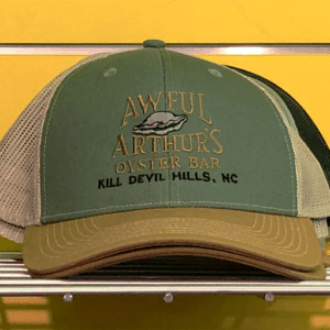 Awful Arthurs Branded Trucker Hate Olive