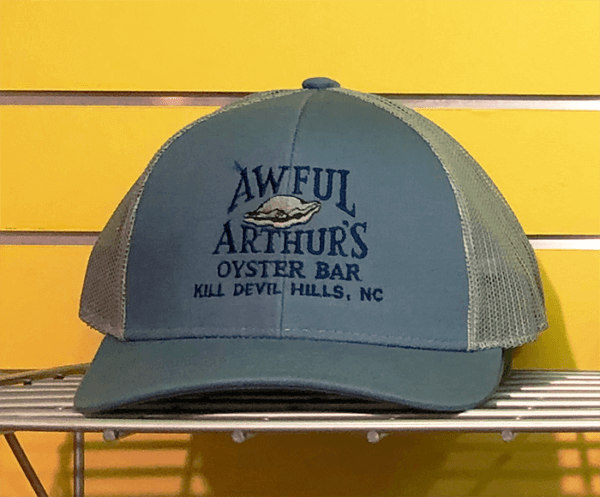 Awful Arthurs Branded Trucker Hate Slate