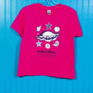 awfularthurs-pinksparkeshell-kidshirt